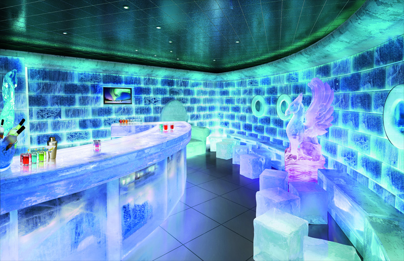 Destinos de hielo: ICE BAR MADRID