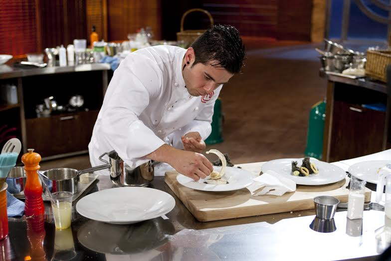 Grabación del programa Final de la 3ª temporada de Master Chef