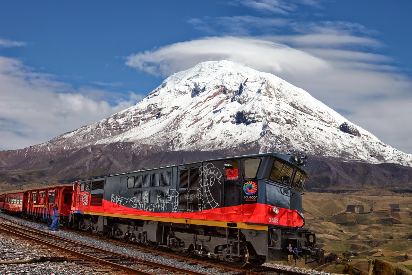 Destinos de hielo: Un tren rumbo a los Andes