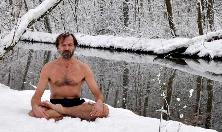 Ice Man - Capaz de autoinducirse calor corporal