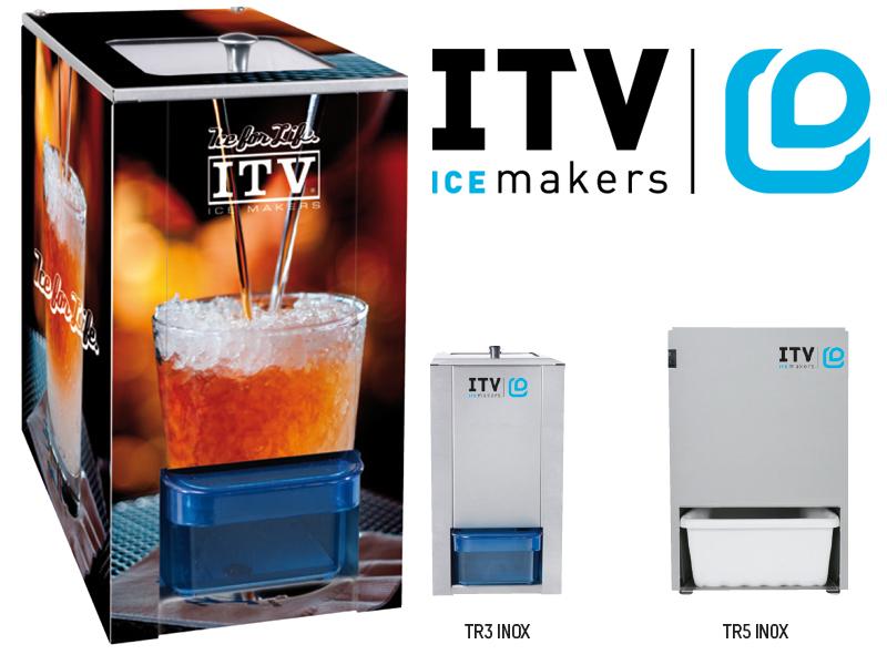 El triturador de hielo ITV: TR INOX / ITV's Ice Crusher: TR INOX