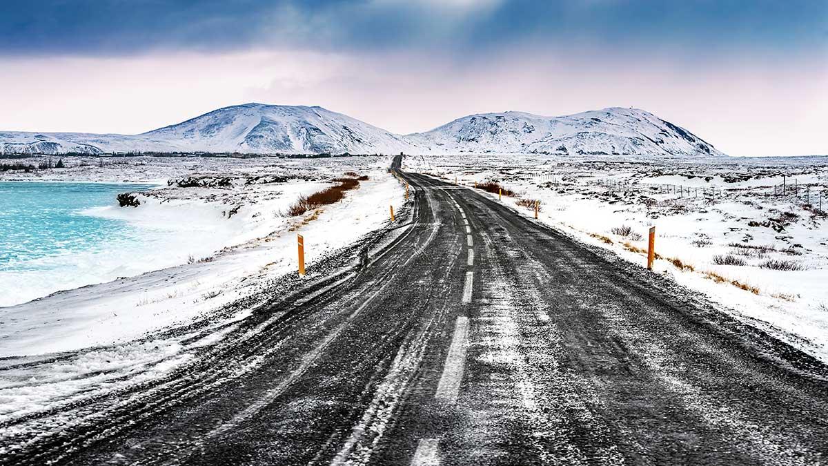 Sal para eliminar el hielo de la carretera