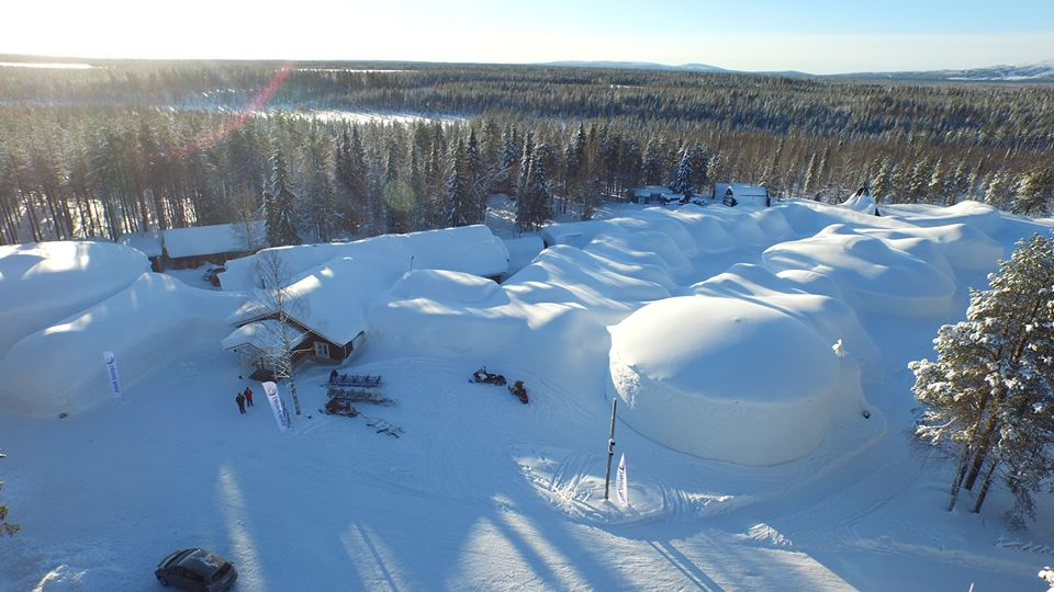 Destinos de hielo: Snow Village, un paraíso de nieve en Finlandia