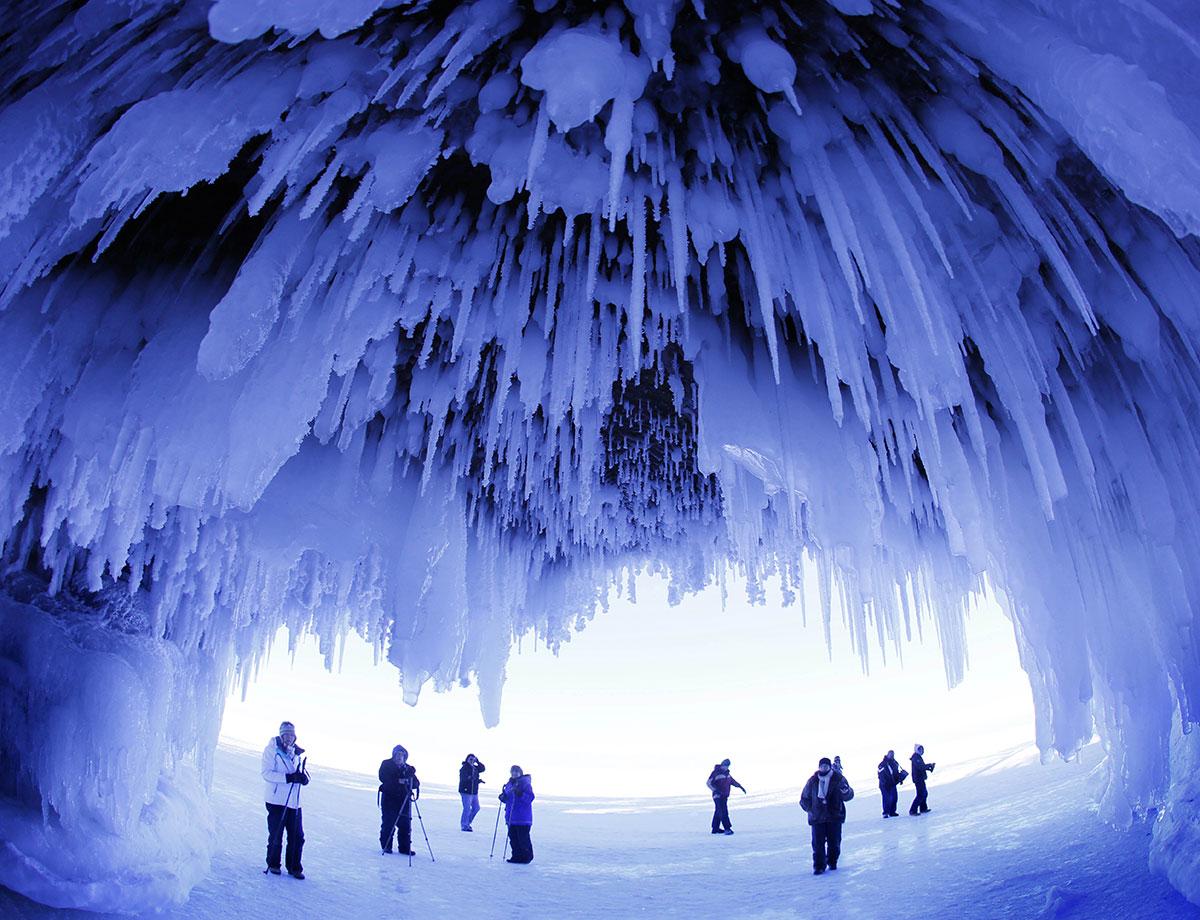 ¿Sabías cómo se forman las estalactitas de hielo?