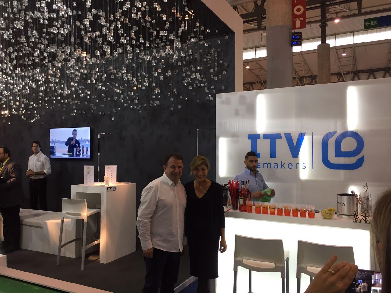 Exito de ITV en Hostelco 2016