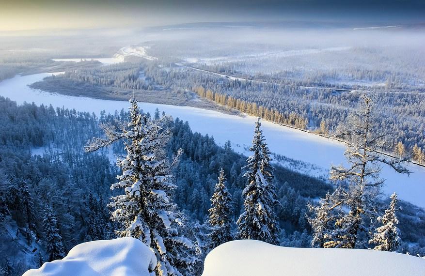 Destinos de hielo: Misterios de Siberia, el desierto blanco