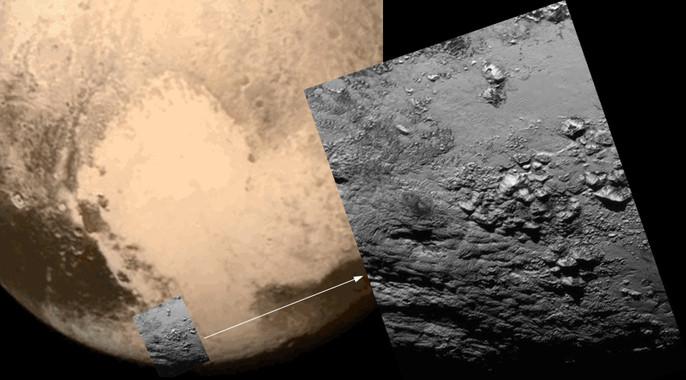 El misterioso corazón de hielo de Plutón