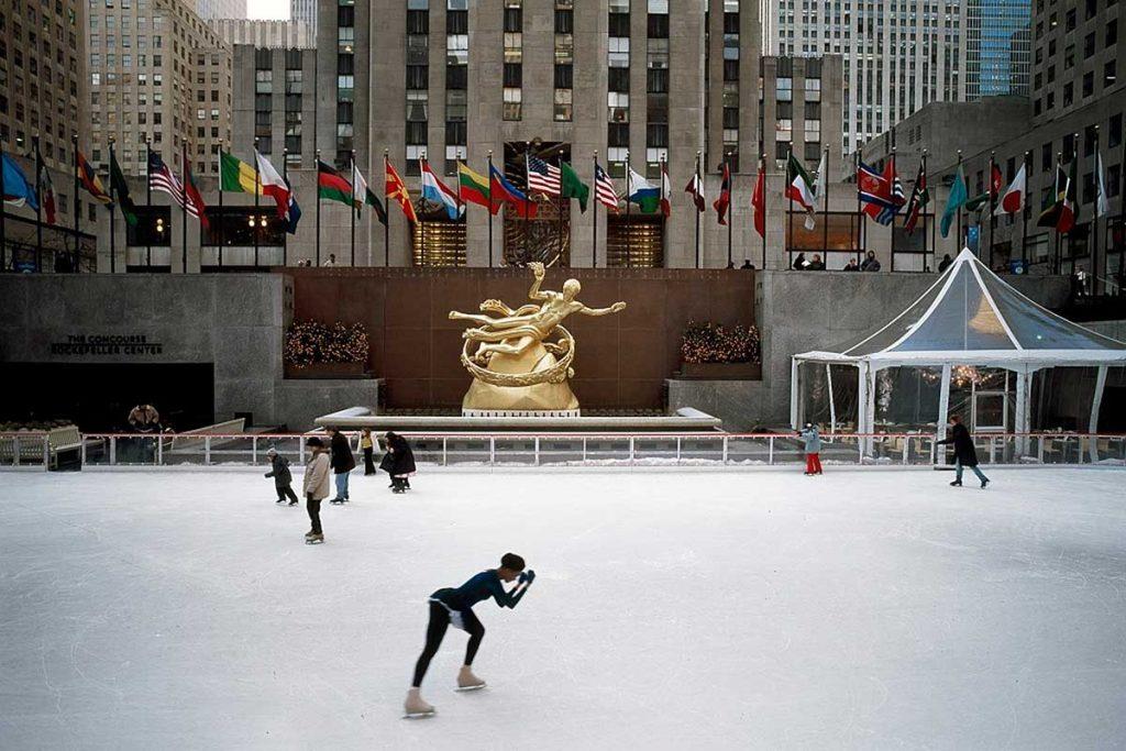 Pista de hielo Rockefeller Center
