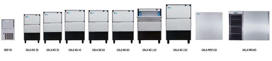 Máquinas de Hielo para Hostelería de la mano de ITV