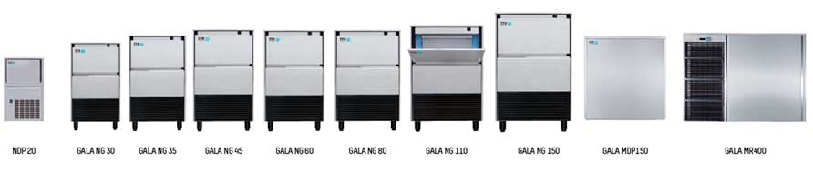 Ice machines for hospitality ITV