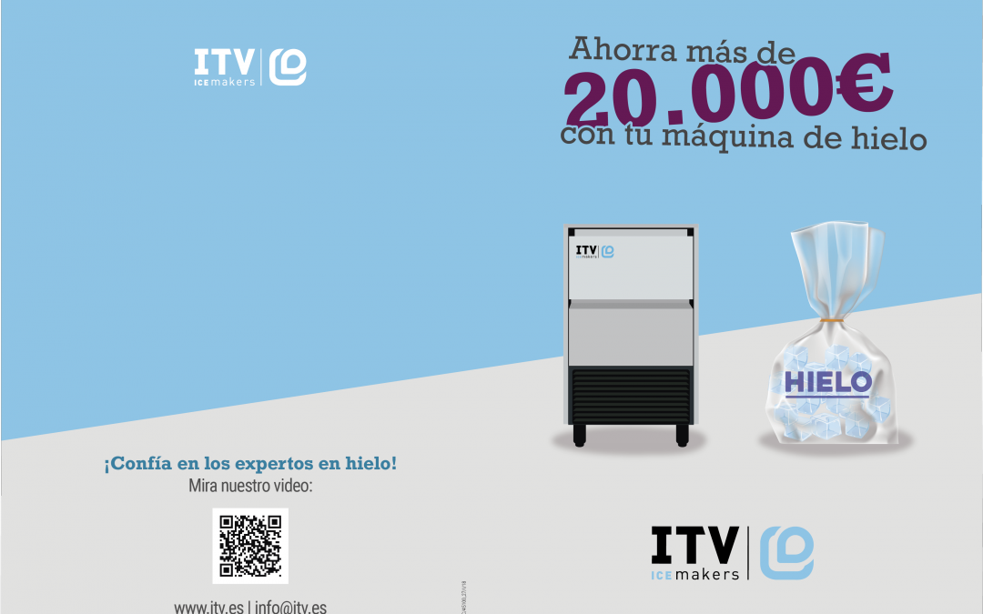 Save more than € 2,000 a year with an ice machine is possible with ITV