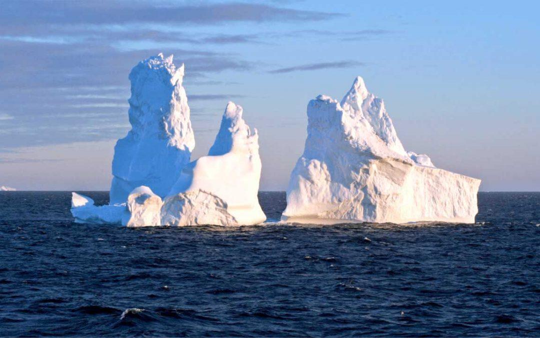 ¿Cómo se forma un iceberg?