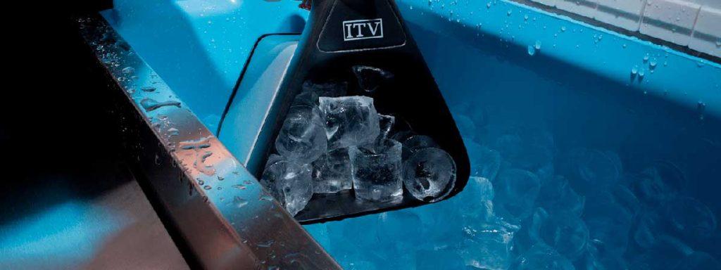 Máquina ITV para hacer hielo en cubitos