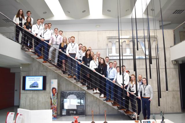 Estudiantes de FP neerlandeses en ITV Ice Makers