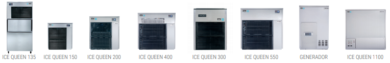 Máquinas de hielo ICE QUEEN