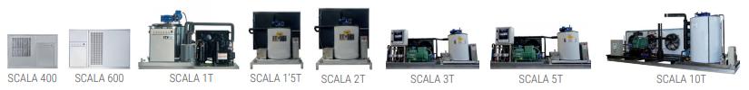 Máquinas de hielo Gama SCALA