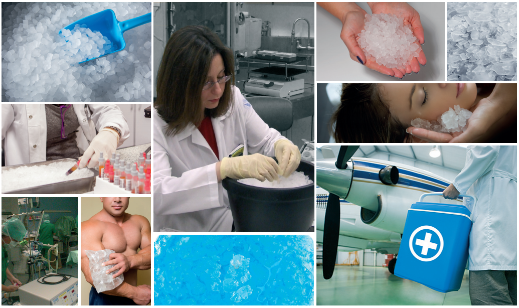 The importance of ice for the health & chemistry sector