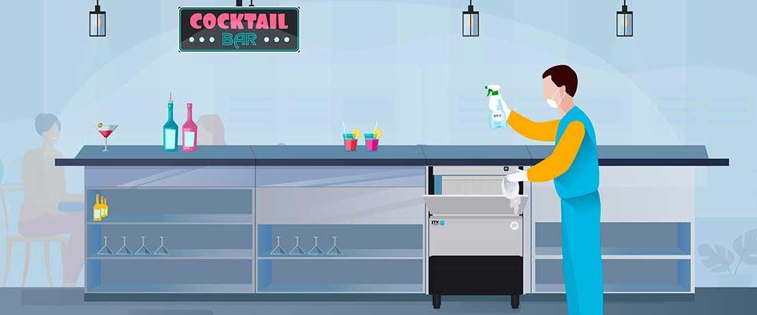 Limpieza en las máquinas de hielo: su importancia y tips esenciales