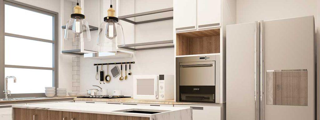 ITV domestic ice machine in the kitchen